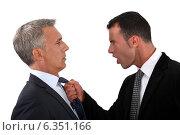 Купить «businessmen fighting», фото № 6351166, снято 2 мая 2011 г. (c) Phovoir Images / Фотобанк Лори