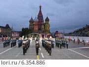 Купить «Фестиваль «Спасская башня» в Москве», эксклюзивное фото № 6354886, снято 1 сентября 2014 г. (c) Алексей Гусев / Фотобанк Лори