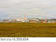 Промышленная зона за пределами полярного круга. Стоковое фото, фотограф Oleksii Pyltsyn / Фотобанк Лори