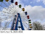 Колесо обозрения. Стоковое фото, фотограф Kirill Zvyagin / Фотобанк Лори