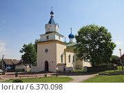 Купить «Троицкая церковь в поселке Мир, Беларусь», фото № 6370098, снято 18 мая 2013 г. (c) Татьяна Грин / Фотобанк Лори