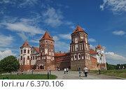 Купить «Мирский замок, Беларусь», фото № 6370106, снято 18 мая 2013 г. (c) Татьяна Грин / Фотобанк Лори
