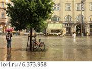 Купить «Дождь с пузырями. Тампере, Финляндия», фото № 6373958, снято 28 августа 2014 г. (c) Валерия Попова / Фотобанк Лори