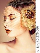 Купить «Beautiful woman face. Perfect makeup. Beauty fashion», фото № 6376066, снято 20 июня 2019 г. (c) Ingram Publishing / Фотобанк Лори