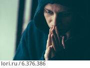 Купить «Man in depression», фото № 6376386, снято 27 ноября 2013 г. (c) Ingram Publishing / Фотобанк Лори