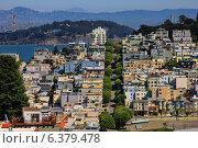 Купить «Улица Ломбард в Сан-Франциско», фото № 6379478, снято 24 сентября 2011 г. (c) Морозова Татьяна / Фотобанк Лори