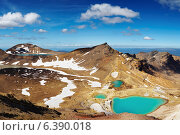 Купить «Emerald Lakes, Tongariro National Park, New Zealand», фото № 6390018, снято 21 ноября 2008 г. (c) Ingram Publishing / Фотобанк Лори