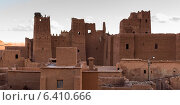 Traditional building in town, Ouarzazate, Morocco (2012 год). Стоковое фото, агентство Ingram Publishing / Фотобанк Лори