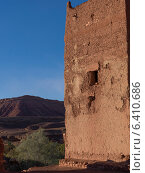 Ruins of a traditional building, Ouarzazate, Morocco (2012 год). Стоковое фото, агентство Ingram Publishing / Фотобанк Лори