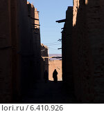 Kasbah Azul in Agdz, Morocco (2012 год). Стоковое фото, агентство Ingram Publishing / Фотобанк Лори
