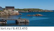 Купить «Dock along coast, Twillingate, South Twillingate Island, Newfoundland And Labrador, Canada», фото № 6413410, снято 25 августа 2013 г. (c) Ingram Publishing / Фотобанк Лори