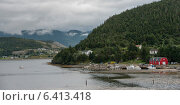 Купить «Town along the coast, Bonne Bay, Norris Point, Gros Morne National Park, Newfoundland And Labrador, Canada», фото № 6413418, снято 28 августа 2013 г. (c) Ingram Publishing / Фотобанк Лори