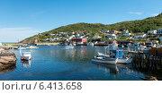 Boats at Petty Harbor-Maddox Cove, St. John's, Avalon Peninsula, Newfoundland And Labrador, Canada (2013 год). Стоковое фото, агентство Ingram Publishing / Фотобанк Лори