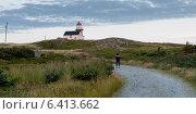 Ferryland Lighthouse, Calvert, Avalon Peninsula, Newfoundland And Labrador, Canada (2013 год). Стоковое фото, агентство Ingram Publishing / Фотобанк Лори