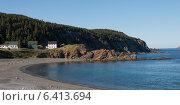 Купить «Houses along coastline, Twillingate, North Twillingate Island, Newfoundland And Labrador, Canada», фото № 6413694, снято 24 августа 2013 г. (c) Ingram Publishing / Фотобанк Лори