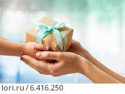 Купить «Christmas gift», фото № 6416250, снято 7 сентября 2014 г. (c) Константин Юганов / Фотобанк Лори