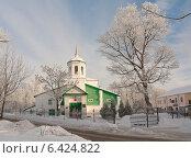 Купить «Церковь Ильи Мокрого с луга (Псков)», фото № 6424822, снято 20 января 2013 г. (c) Валентина Троль / Фотобанк Лори