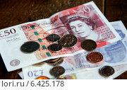 Лондон. Английские фунты (2014 год). Редакционное фото, фотограф Корчагина Полина / Фотобанк Лори