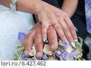 Свадебный маникюр. Стоковое фото, фотограф Александра Орехова / Фотобанк Лори
