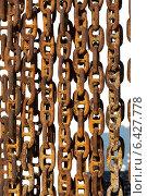 Железные цепи. Стоковое фото, фотограф Ангелина Елефтериади / Фотобанк Лори