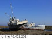 Заброшенные корабли. Стоковое фото, фотограф Gorelova Tatiana / Фотобанк Лори