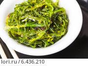 Салат из морской капусты. Стоковое фото, фотограф Оксана Ковач / Фотобанк Лори