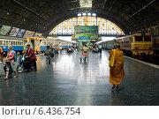 Bangkok, Thailand, Hua Lamphong Station (2009 год). Редакционное фото, агентство Caro Photoagency / Фотобанк Лори