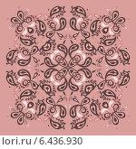 Купить «Кружевной фон. Мандала», иллюстрация № 6436930 (c) Katya Ulitina / Фотобанк Лори