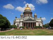 Купить «Исаакиевский собор. Санкт-Петербург», эксклюзивное фото № 6443002, снято 2 августа 2014 г. (c) Яна Королёва / Фотобанк Лори
