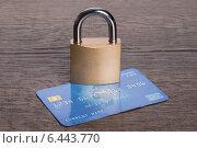 Купить «Secure credit card concept», фото № 6443770, снято 17 июля 2014 г. (c) Андрей Попов / Фотобанк Лори