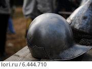 Рыцарский шлем реконструкция 10 го века. Стоковое фото, фотограф Роман Палтахиенти / Фотобанк Лори