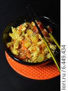 Макароны с овощами. Стоковое фото, фотограф Валентина Шигина / Фотобанк Лори