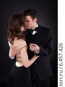 Купить «Passionate Man Removing Dress Strap From Woman's Shoulder», фото № 6457426, снято 23 февраля 2014 г. (c) Андрей Попов / Фотобанк Лори