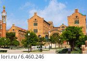 Купить «Hospital de la Santa Creu i Sant Pau in Barcelona», фото № 6460246, снято 13 сентября 2014 г. (c) Яков Филимонов / Фотобанк Лори