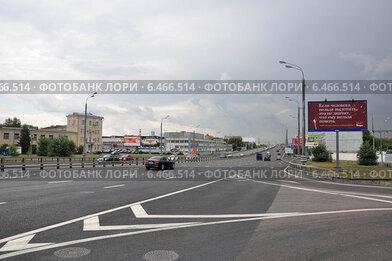 Звенигородское шоссе (вид из Мневников)