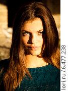 Портрет молодой девушки. Стоковое фото, фотограф Инна Яровская / Фотобанк Лори