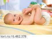 Купить «Little child portrait.», фото № 6482378, снято 13 июня 2019 г. (c) BE&W Photo / Фотобанк Лори