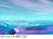 Купить «Абстрактные незнакомые планеты в глубоком космосе», иллюстрация № 6485722 (c) Parmenov Pavel / Фотобанк Лори