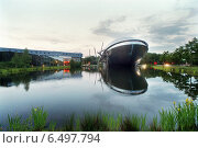 View of the Universum Science Center in Bremen, Germany (2006 год). Редакционное фото, агентство Caro Photoagency / Фотобанк Лори