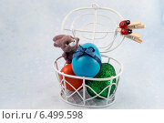 Пасхальный кролик. Стоковое фото, фотограф Корнева Юлия / Фотобанк Лори