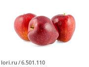 Красные яблоки. Стоковое фото, фотограф Andrei Nekrassov / Фотобанк Лори