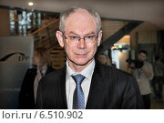 Купить «Herman van Rompuy», фото № 6510902, снято 10 декабря 2009 г. (c) Caro Photoagency / Фотобанк Лори