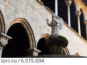 Купить «Angel statue at cloister of Pedralbes Monastery», фото № 6515694, снято 26 мая 2018 г. (c) Яков Филимонов / Фотобанк Лори