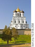Купить «Троицкий собор в Пскове», фото № 6518358, снято 20 сентября 2014 г. (c) Валентина Троль / Фотобанк Лори