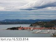 Купить «Панорама города Изола, Словения», фото № 6533814, снято 16 сентября 2008 г. (c) Евгения Шитюк / Фотобанк Лори