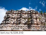 Археологический комплекс Каба, расположенный на полуострове Юкатан. Стоковое фото, фотограф Ludenya Vera / Фотобанк Лори