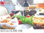 Грузинская кухня. Фон. Стоковое фото, фотограф Андрей Гашев / Фотобанк Лори