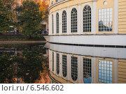 Чистые пруды осенью.Москва (2007 год). Стоковое фото, фотограф Эдуард Данилов / Фотобанк Лори