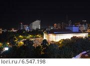 Купить «Сочи. Зимний театр ночью», фото № 6547198, снято 10 сентября 2014 г. (c) Александр Замараев / Фотобанк Лори