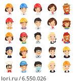 Купить «Успешные люди разных профессий», иллюстрация № 6550026 (c) Viachaslau Vaitsenok / Фотобанк Лори